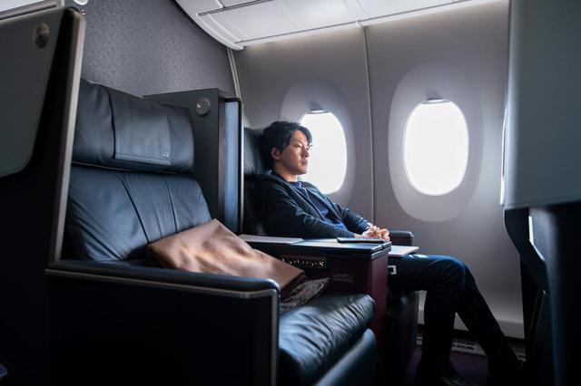 画像10: まるで空の上の書斎。ミステリー作家が語るAirbus A350ファーストクラス