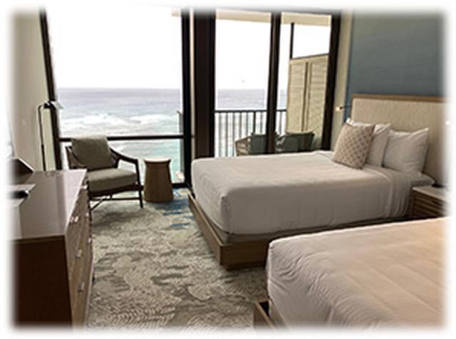 画像: Deluxe Ocean view(19-23階のお部屋)