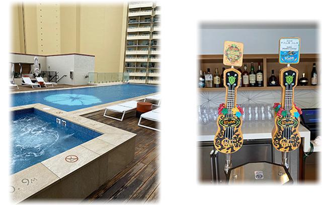 画像: ハワイ産ビールのサーバーはとってもキュート!!これだけでも写真映えです!