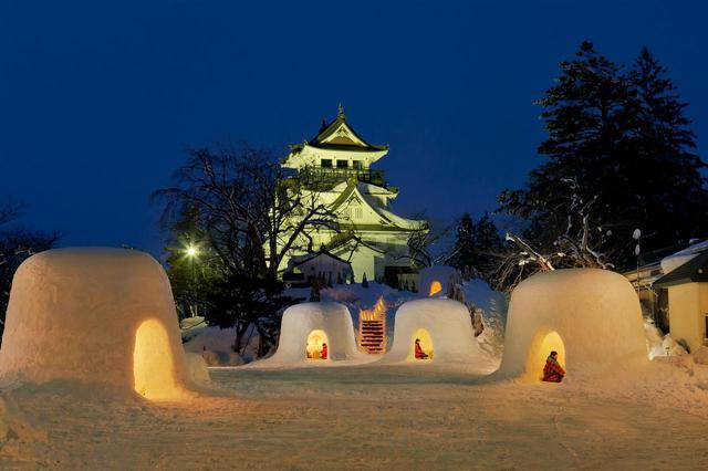 画像1: 「はっ」とする秋田のイベント(1)「横手の雪まつり2020」