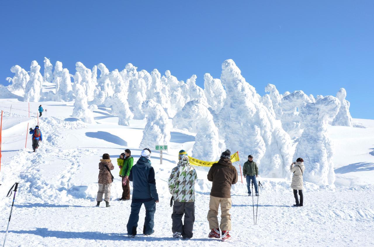画像2: 絶景スポット(1)森吉山 阿仁スキー場|日本三大樹氷観賞地は見逃せない