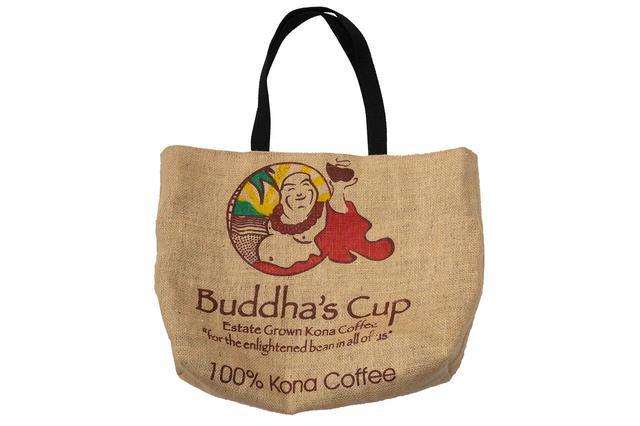 画像: コナコーヒーを生産するブッダズ カップのトートバッグ