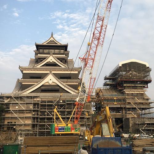 画像1: 今しか見ることのできない熊本城