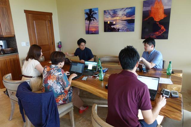 画像: ワーケーションの参加者たち