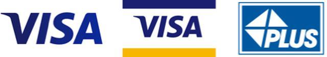 画像: Visa または Visa PLUS