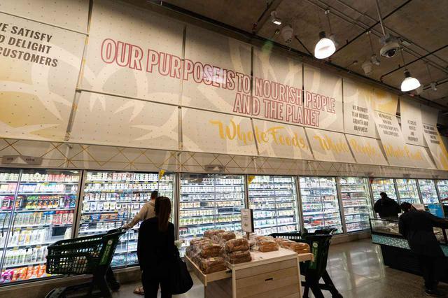 """画像1: """"これぞアメリカのスーパーマーケット"""""""
