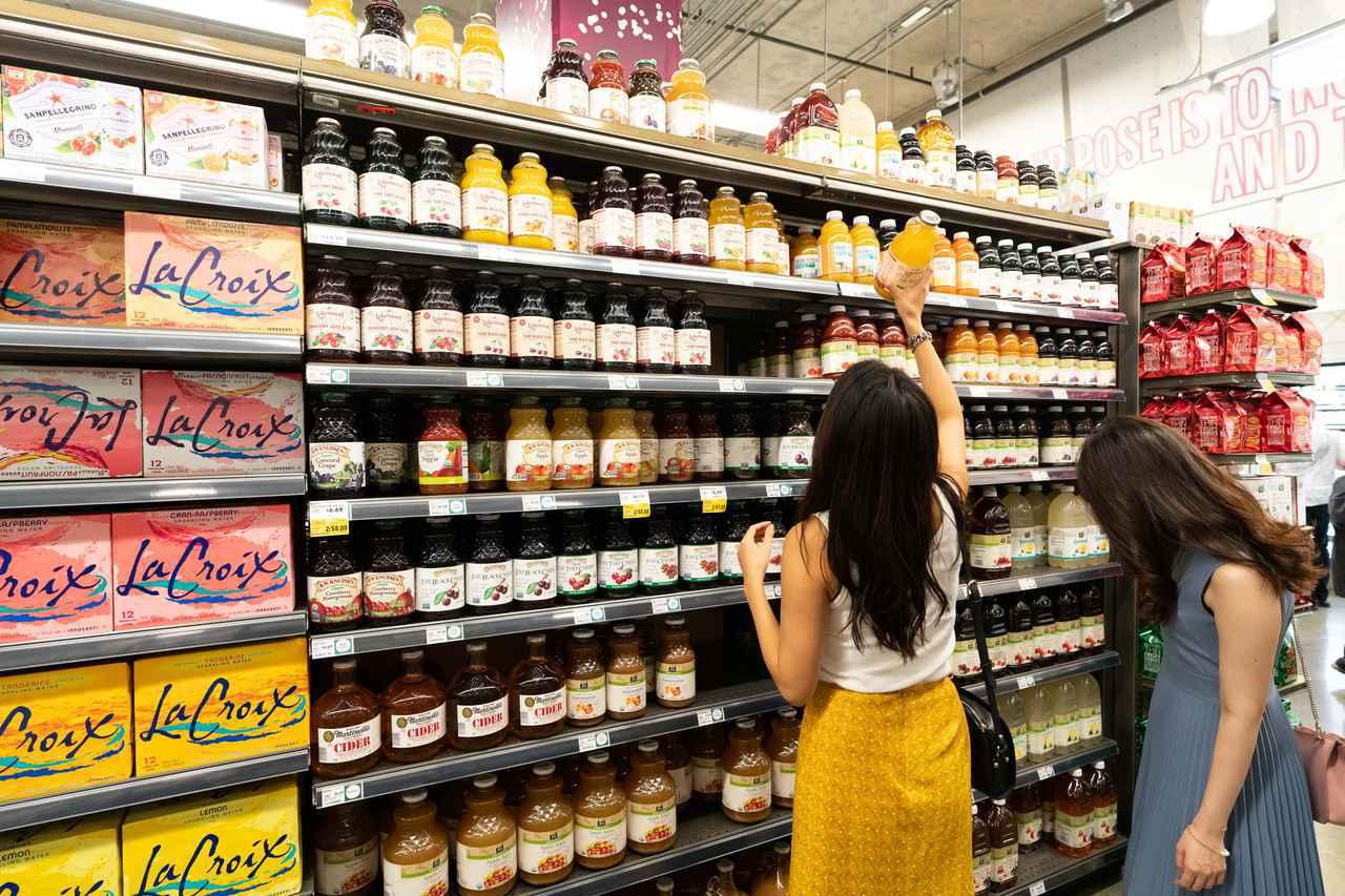 """画像2: """"これぞアメリカのスーパーマーケット"""""""