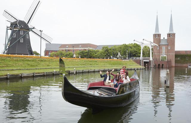 画像1: 1.「ゴンドラ遊覧」で運河からヨーロッパの街並みを楽しむ