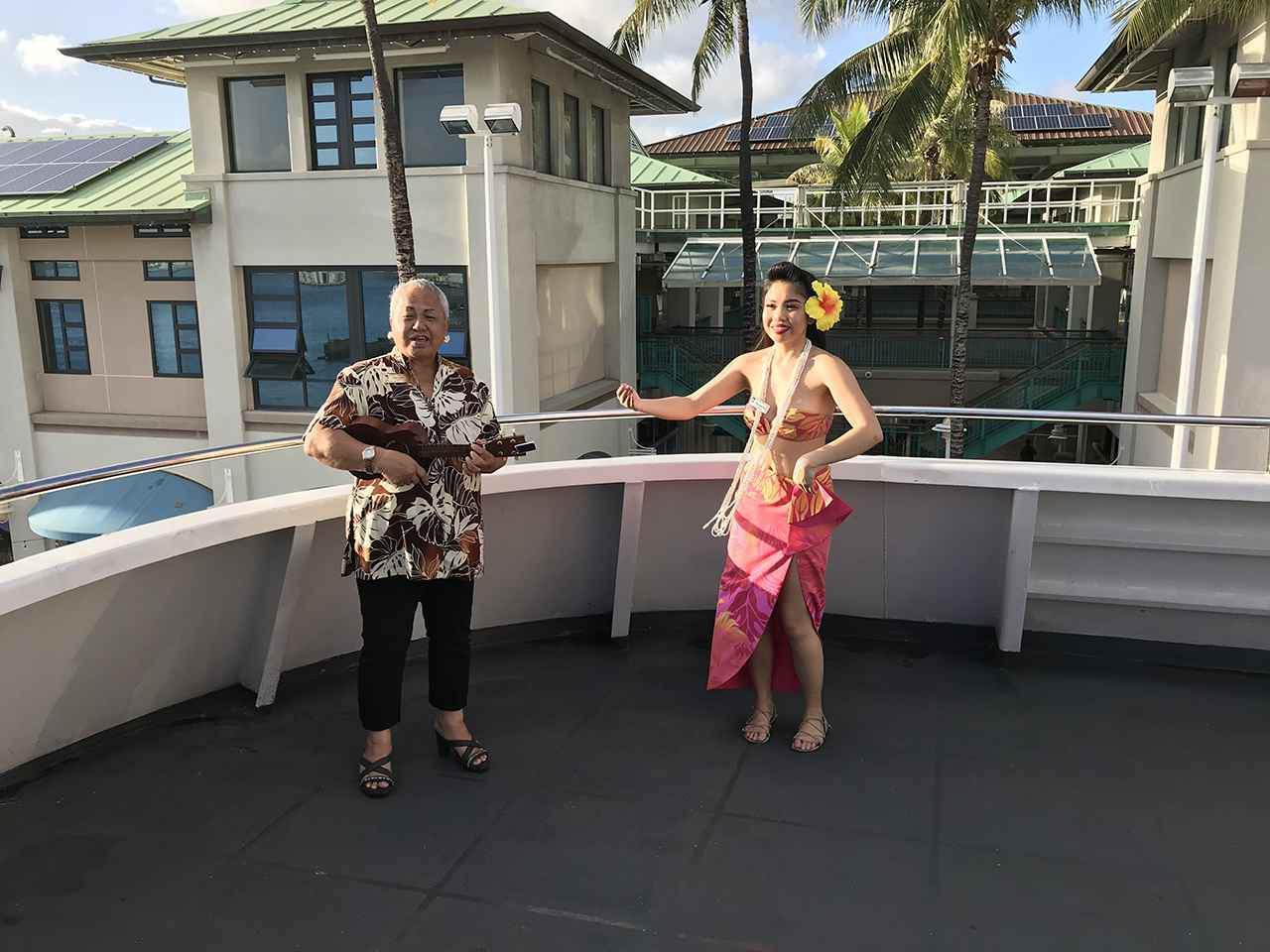 画像4: (ハワイ)現地スタッフが体験!~ファイブスター・サンセットダイニング&ジャズクルーズ~