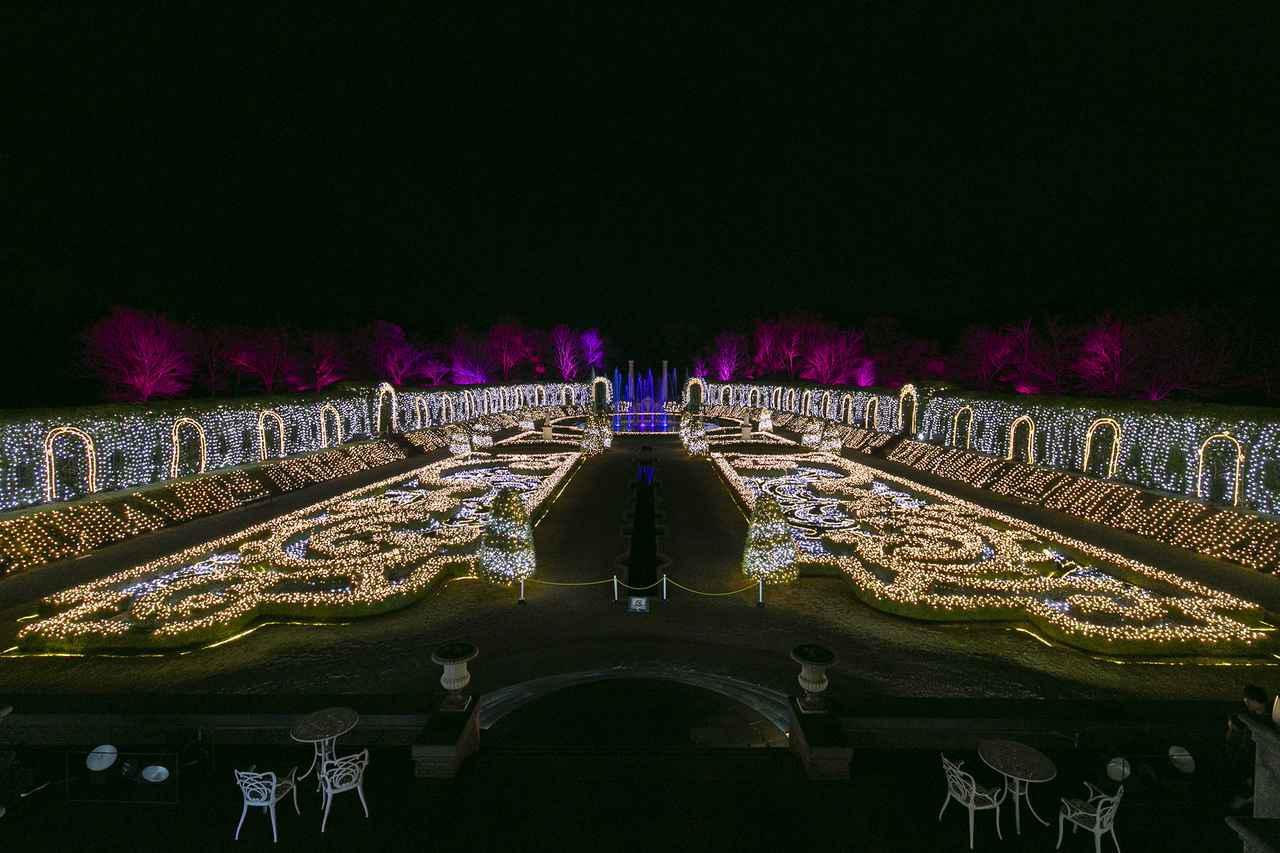 画像: 9.夜は音楽と光が融合した「光のオーケストラ」へ