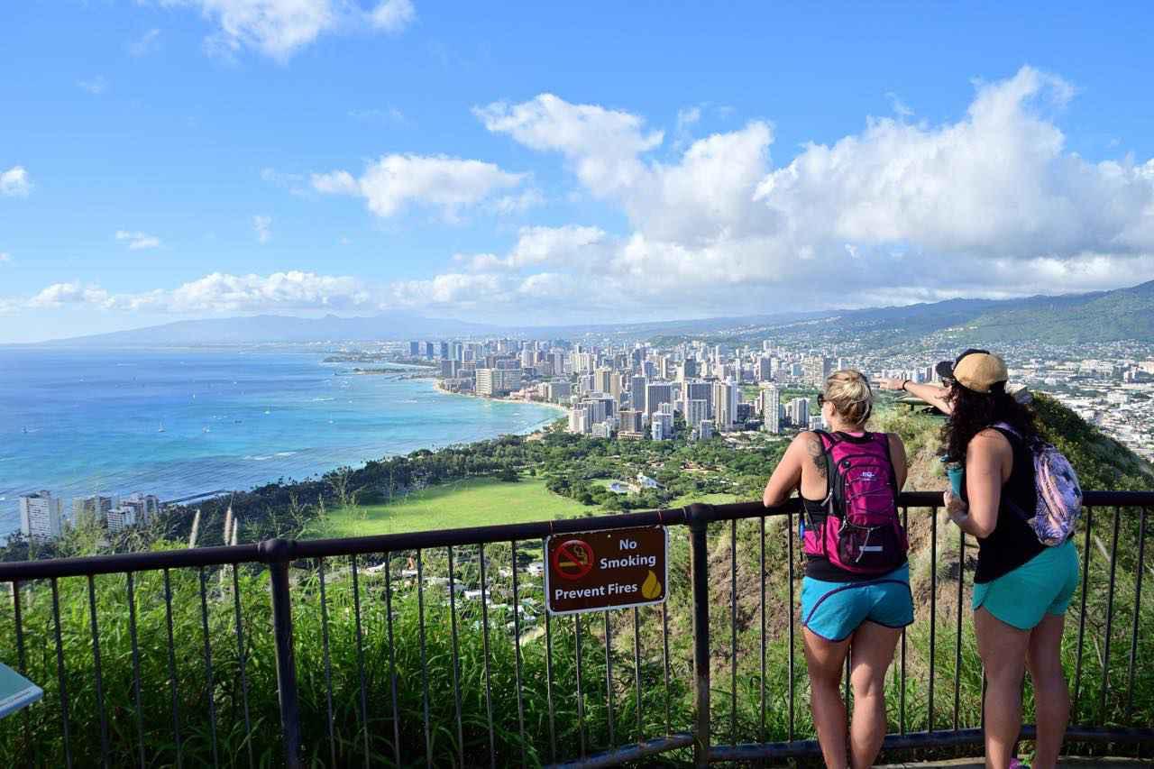 画像2: 「ダイヤモンドヘッド」の山頂から眺める絶景のハワイ
