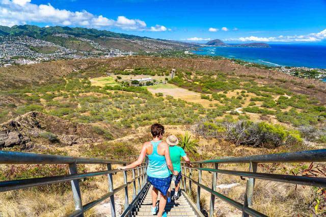 画像3: 「ダイヤモンドヘッド」の山頂から眺める絶景のハワイ