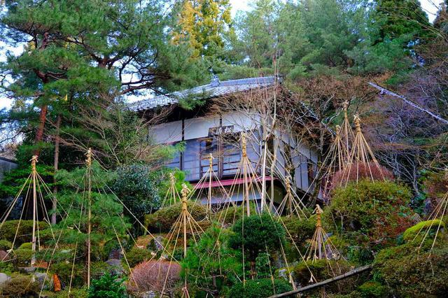 画像: 長生館の離れのひとつ「松濤亭」は明治期に建てられた純和風の建物。こちらは一棟貸切りで利用でき、しかも2階建という広さです。
