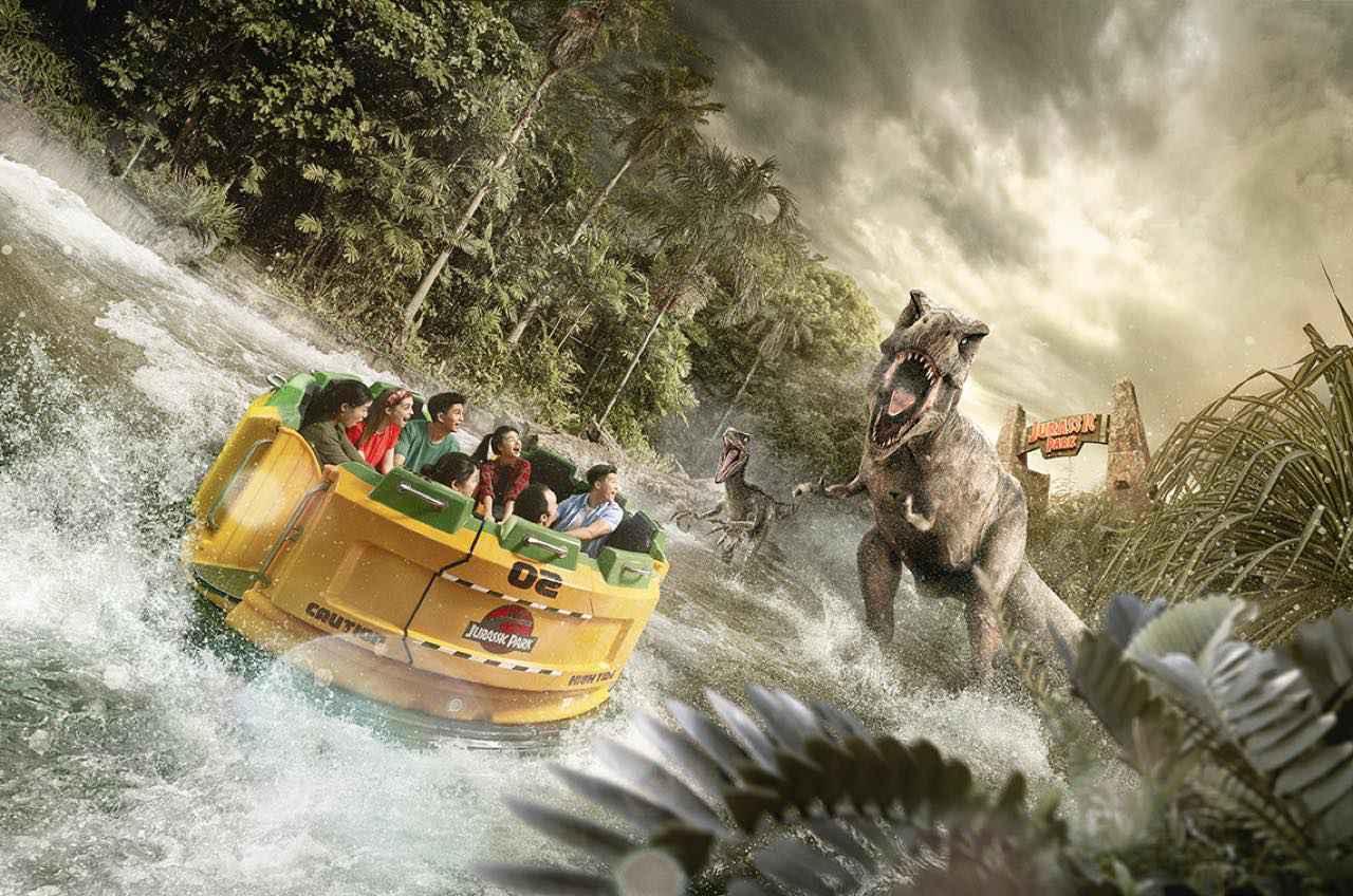 画像: 「ジュラシック・パーク・ラピッド・アドベンチャー」で先史時代の生き物に会いにいきましょう Jurassic Park and Jurassic Park Rapids Adventure & (c) Universal Studios/Amblin Entertainment. All rights reserved.