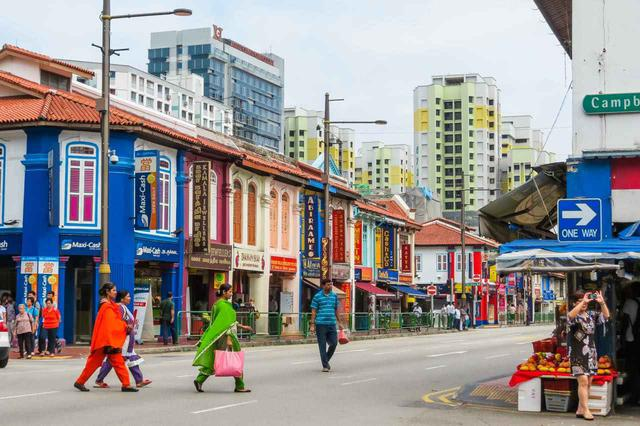 画像: インド系シンガポール人たちの御用達エリア Arndale / Shutterstock.com