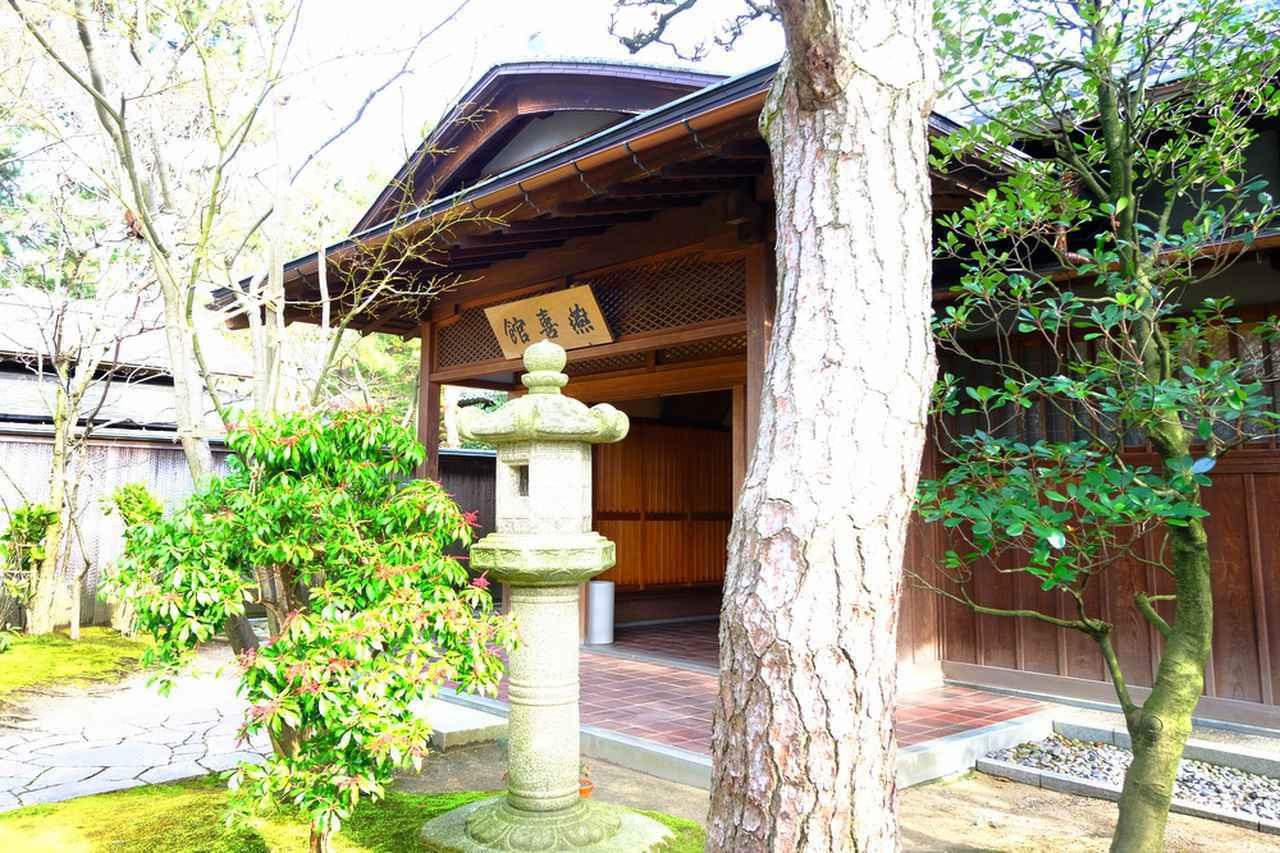 画像: 白山公園内には豪商であった旧齋藤家が残した邸宅の一部「燕喜館」があります。こちらは無料で見学できます。