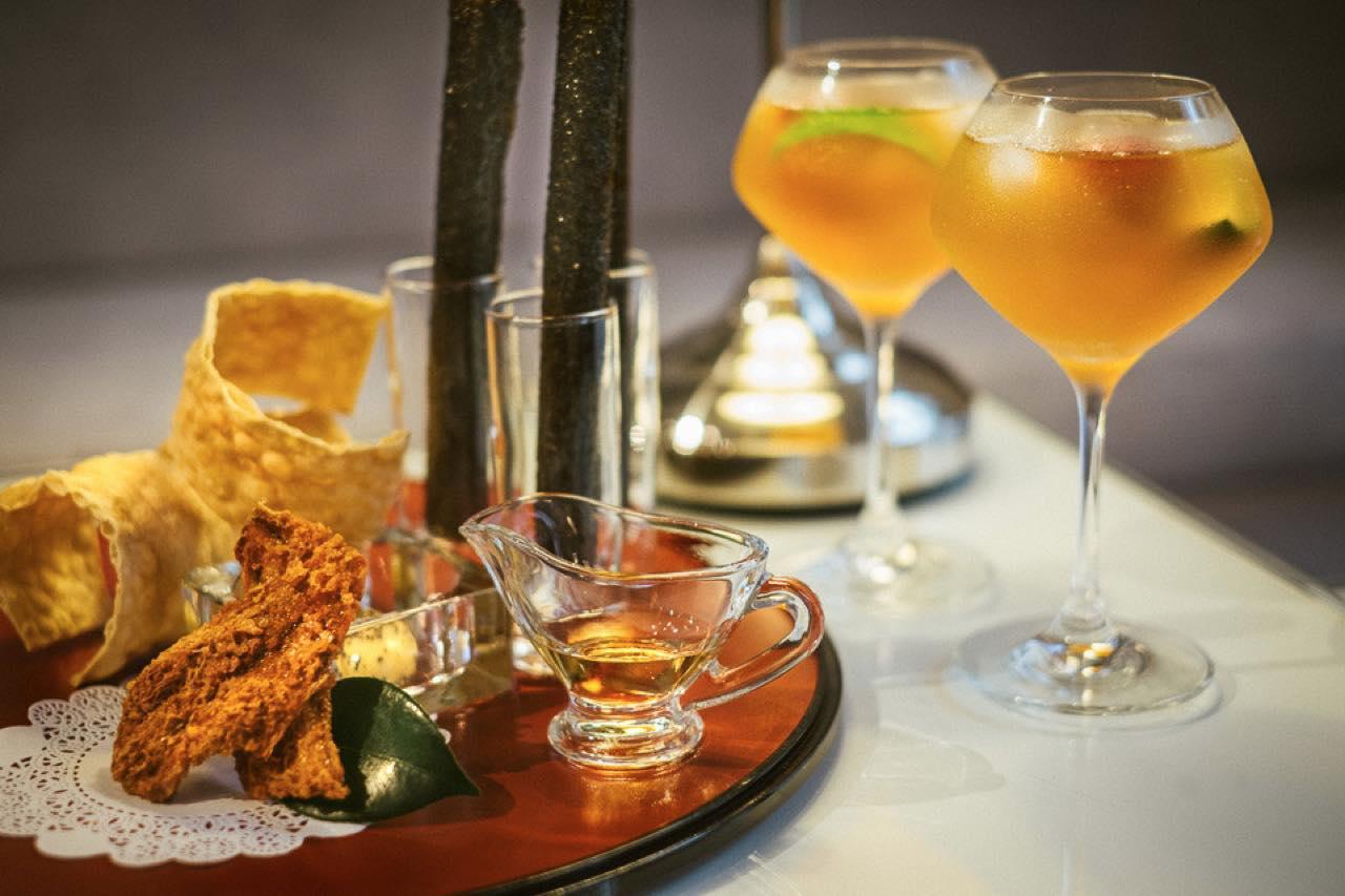 画像: ティー・ボーン・ゼン・マインドでは3種のお茶に食べ物をペアリングしたコースをいただけます(5~7営業日前までに要予約、2名から)