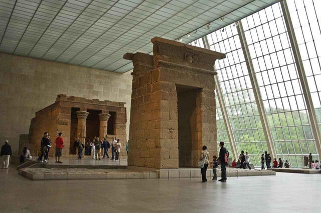画像: ローマ皇帝アウグストゥスによって建てられたデンドゥール神殿 (c) The Metropolitan Museum of Art