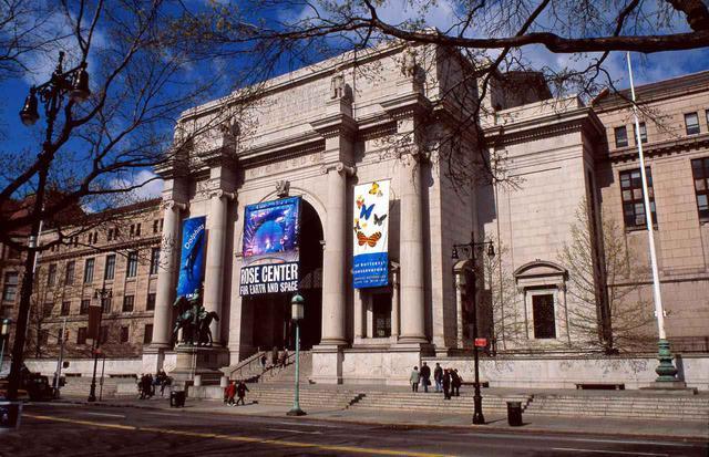 画像: メトロポリタン美術館と同時期に建てられた歴史ある博物館 (c)AMNH/C. Chesek