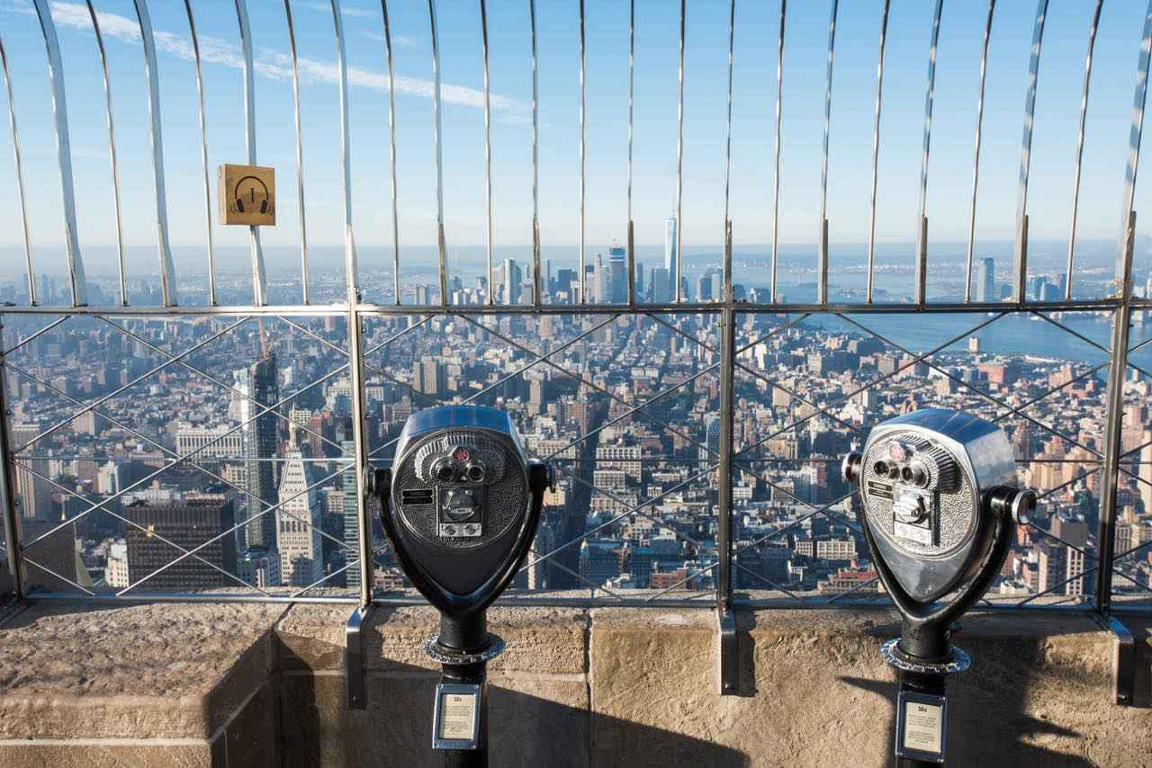 画像: 360度にニューヨークの街が広がります (c)Julienne Schaer/NYC & Company
