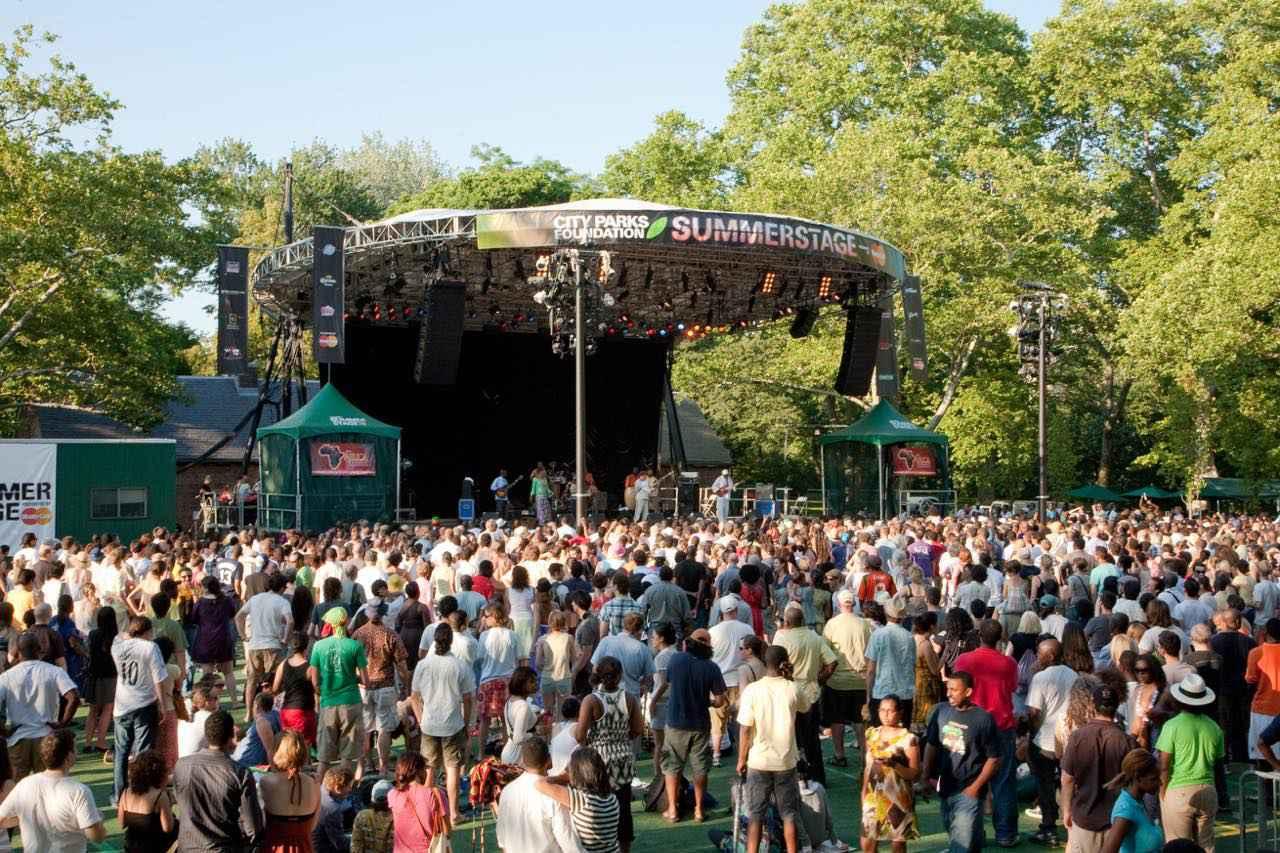 画像: サマーステージが夏のニューヨークを熱狂の渦へ (c)Will Steacy/NYC & Company