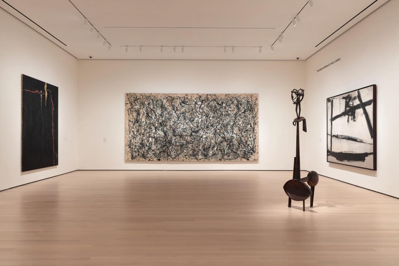 画像: 2019年10月に90周年を記念して増築・改装されました Installation view of Action Painting I (gallery 403), The Museum of Modern Art, New York. (c) 2019 The Museum of Modern Art. Photo: Heidi Bohnenkamp