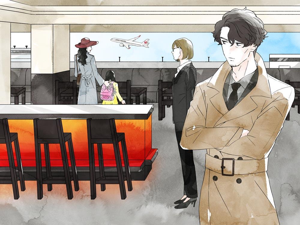 画像1: 「探偵明智、謎の美人親娘と乗る初めてのファーストクラス」