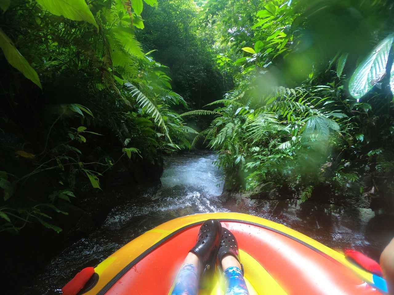 画像1: 5.【キャニオン・チュービング・アドベンチャー】手つかずのジャングルで体験する、癒しと興奮の川下り