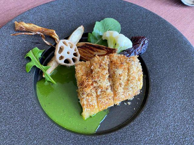 画像: 料理の一例。長州鶏を用いた一品