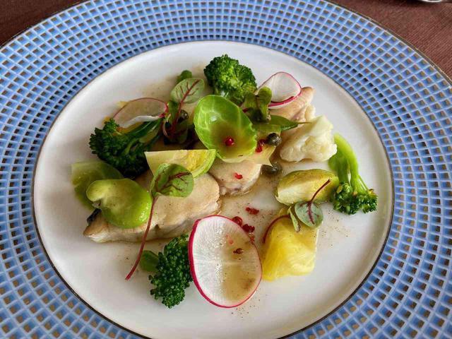 画像: 料理の一例。鰆を用いた一品