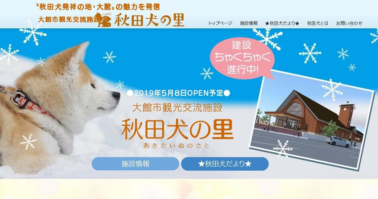 画像: 秋田犬の里(あきたいぬのさと)|大館市観光交流施設