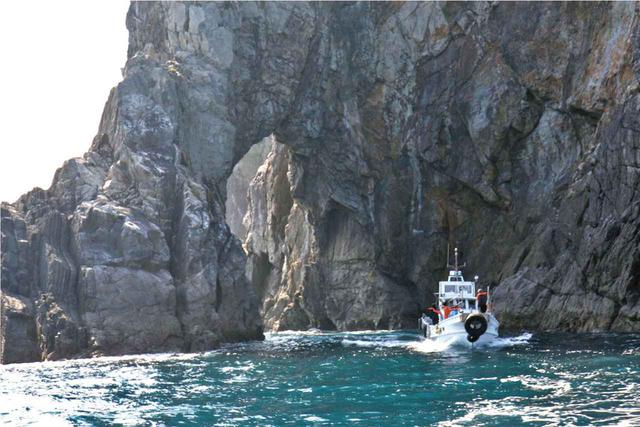 画像: 漁船でのクルージング体験
