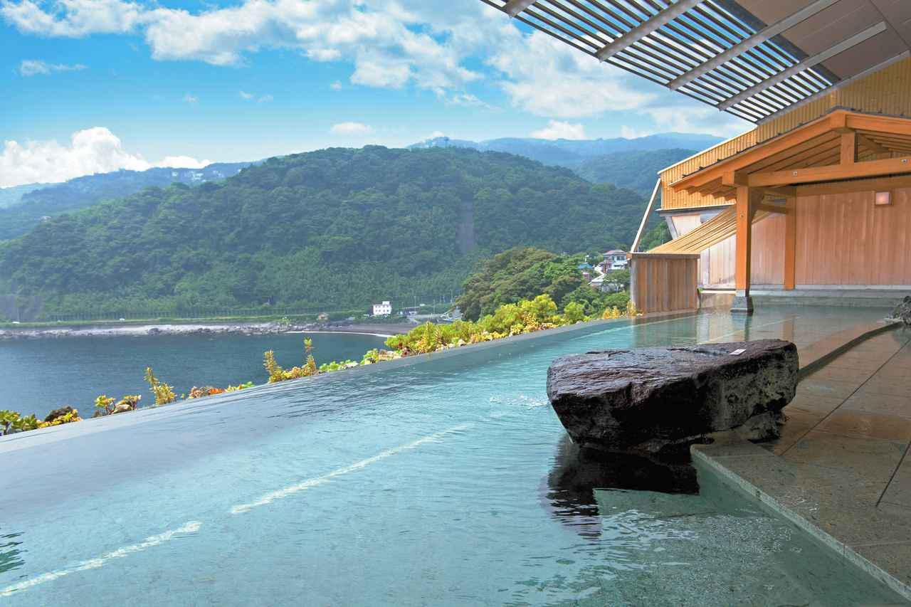 画像: 赤沢温泉ホテル露天 ヒノキ風呂