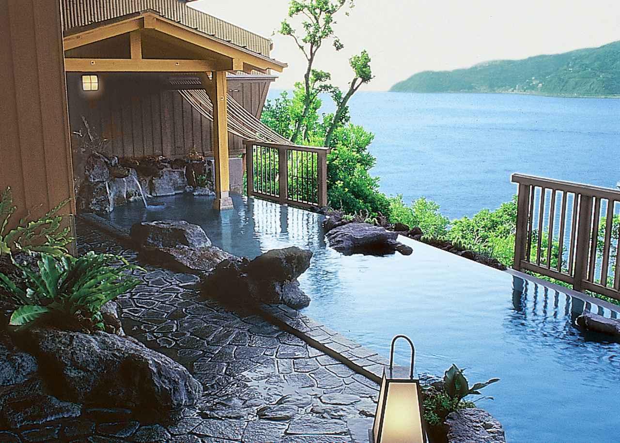 画像: 赤沢温泉ホテル露天 岩風呂