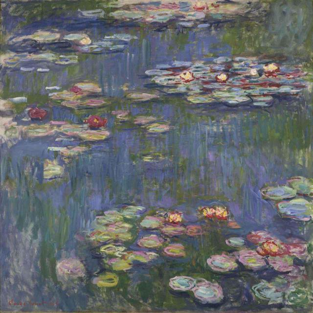 画像: クロード・モネ『睡蓮』1916年 油彩、カンヴァス 国立西洋美術館 松方コレクション
