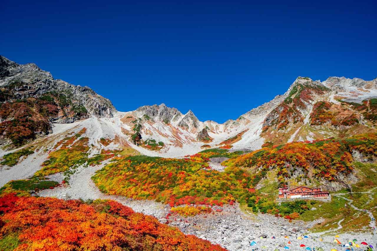 画像: 涸沢の紅葉