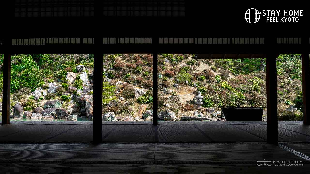 画像: Stay Home, Feel Kyotoキャンペーン|ビデオ通話用背景|【京都市公式】京都観光Navi