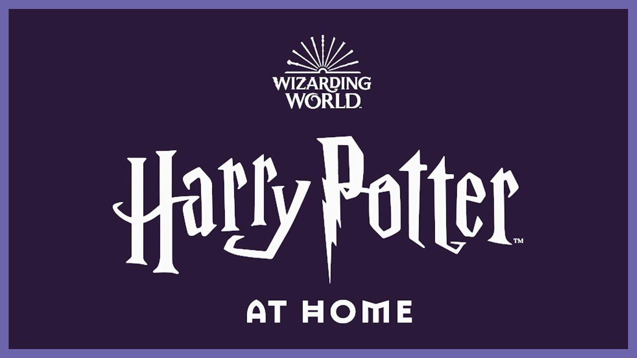 画像: Harry Potter at Home | Wizarding World youtu.be