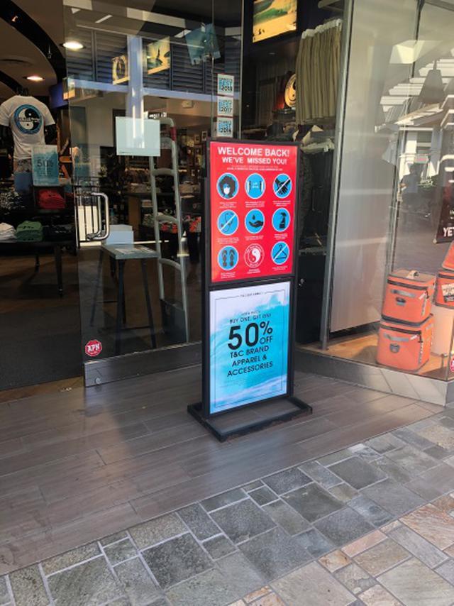 画像11: オアフ島 一部経済活動再開で気になるショッピングモール事情