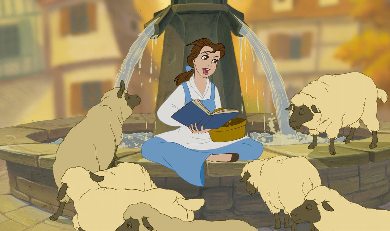 画像2: 美女と野獣 ©2020 Disney ディズニープラスで配信中