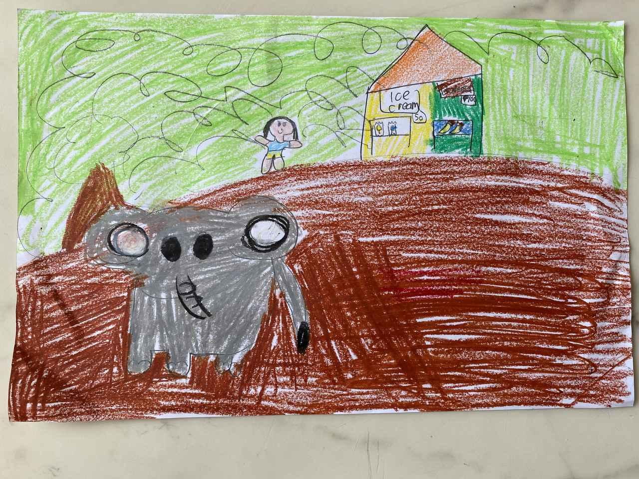 画像: 象の背中に乗ってお散歩(タイ・プーケット)