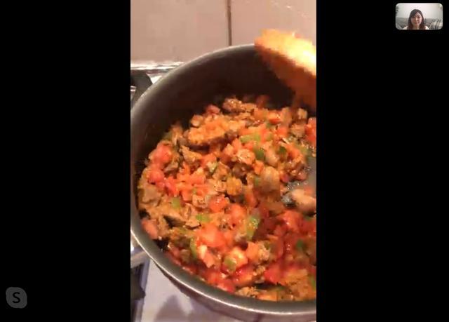画像4: 日本とトルコでTV電話!料理レッスン体験レポート