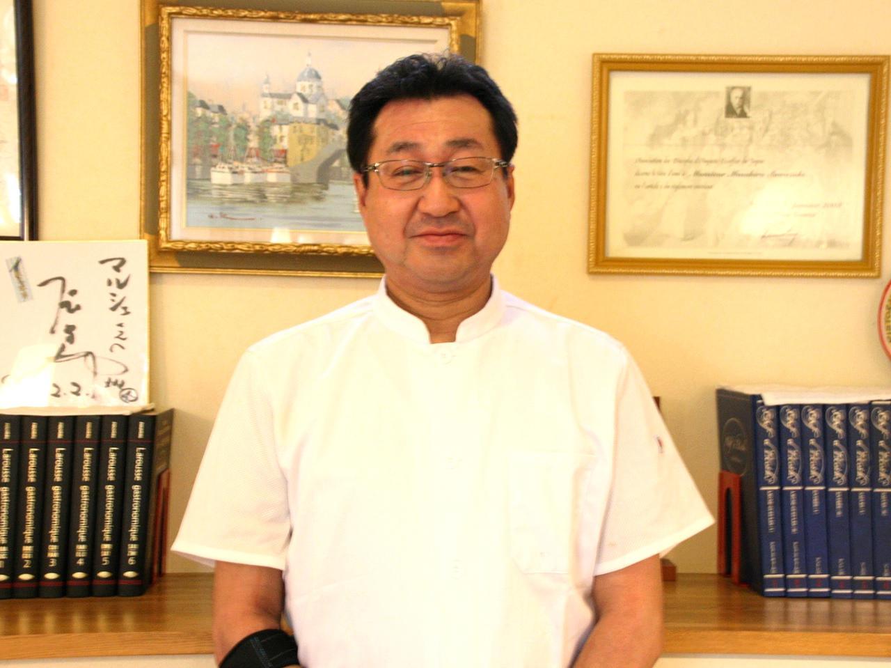 画像: 地元の北見出身の沢崎正弘さん。日本エスコフィエ協会の地区委員も務める