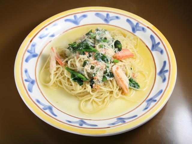 画像: 生パスタは1.6㎜で食べやすく、それでいて、もっちりとした食感