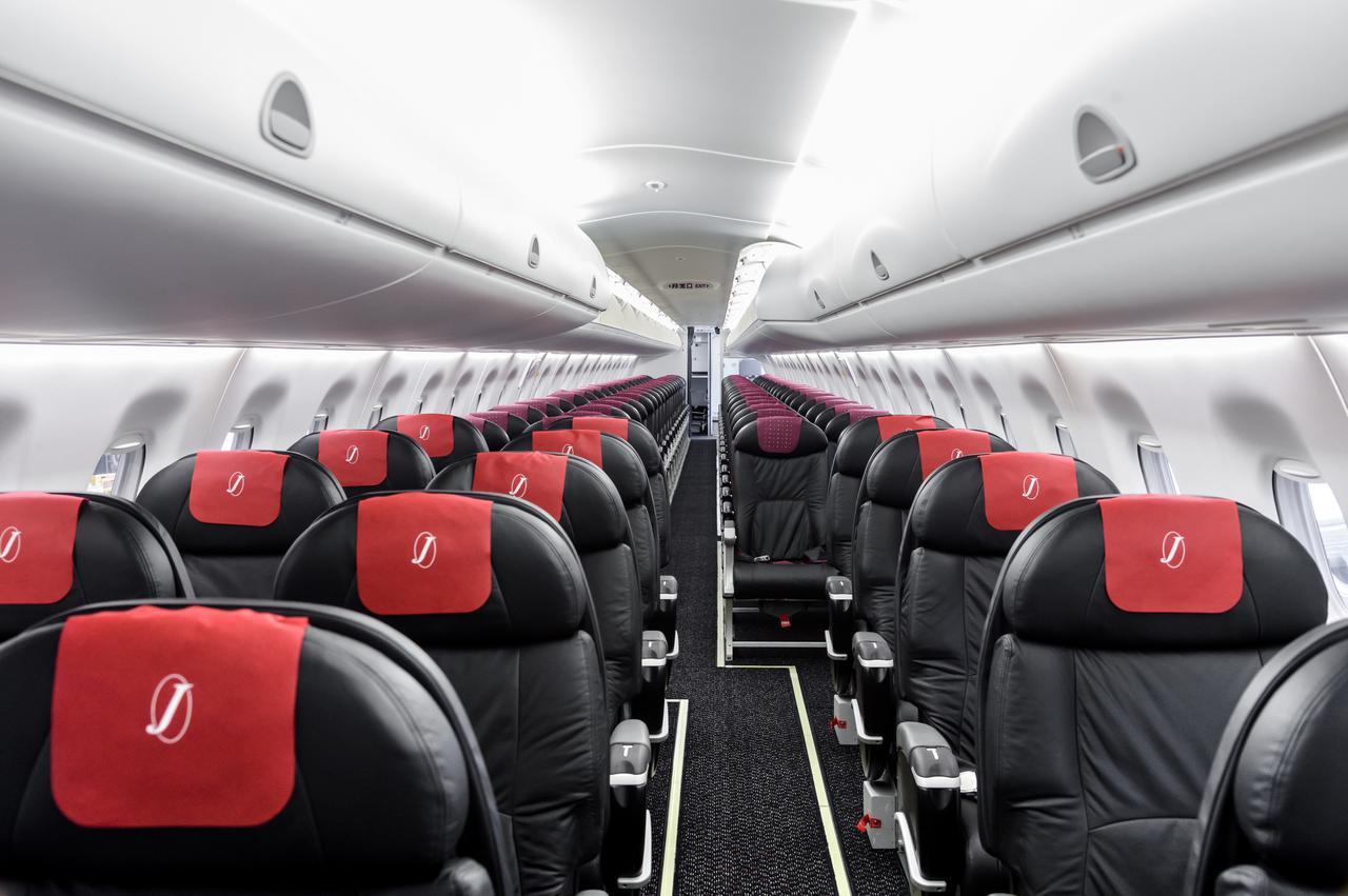 画像: 安心してご搭乗いただくために…運航乗務員が機内の空気循環の仕組みを解説