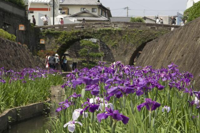 画像: 高瀬目鏡橋