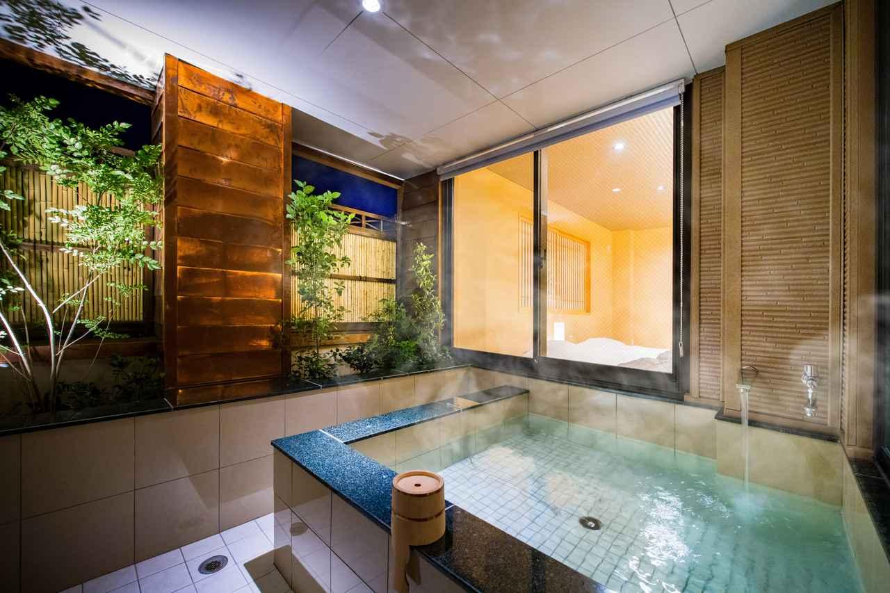 画像14: 部屋付きの露天風呂と窓辺の絶景を満喫。リトリートできる「おこもり旅」
