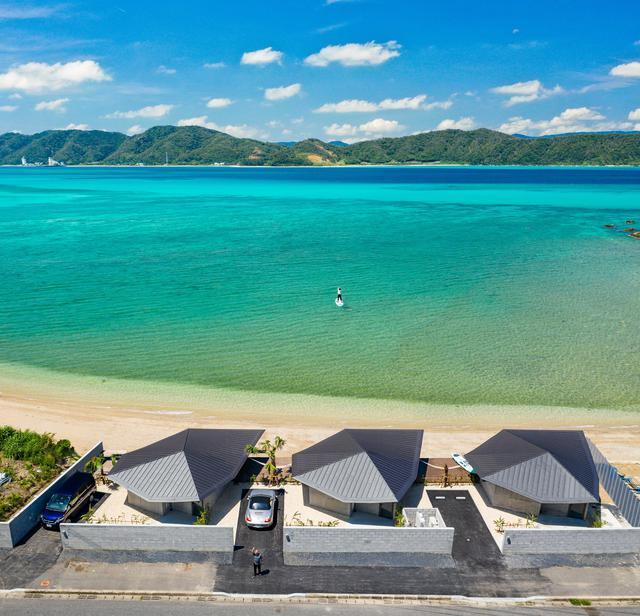 画像2: 【伝泊 The Beachfront MIJORA】奄美大島の文化を宿す海辺のヴィラ