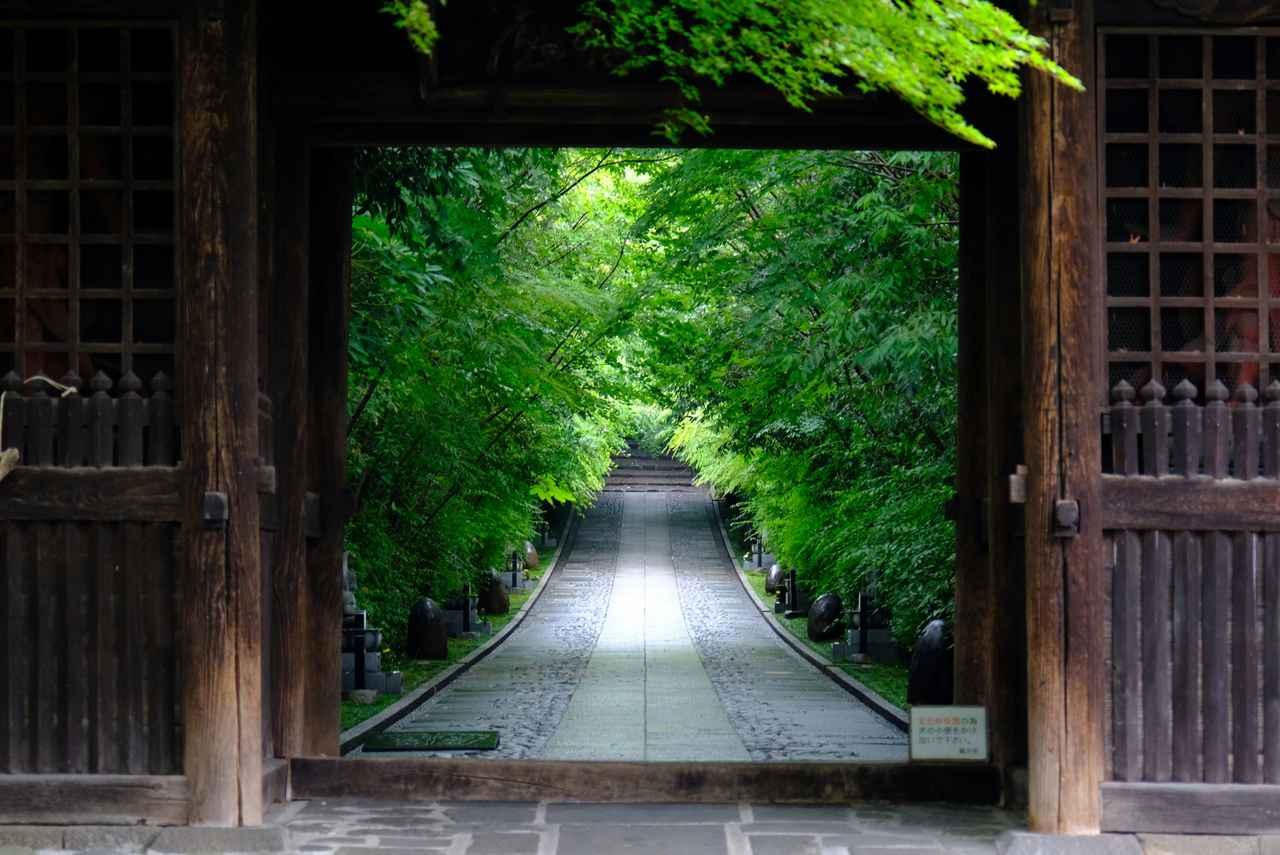 画像: 伊達家ゆかりのお寺で、庭園が美しい「輪王寺」。朝の時間に訪れました。