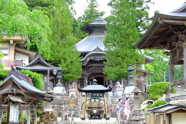 画像: この山門を含め5つの建物が登録有形文化財に指定されています。澄んだ空気に心も穏やかになります。